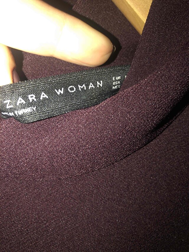Bordo Zara Bluz 1