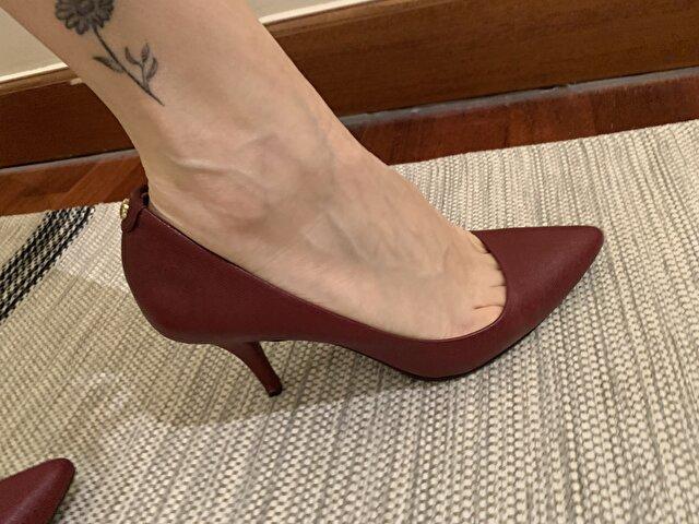 Bordo Michael Kors Stiletto 195 TL 0