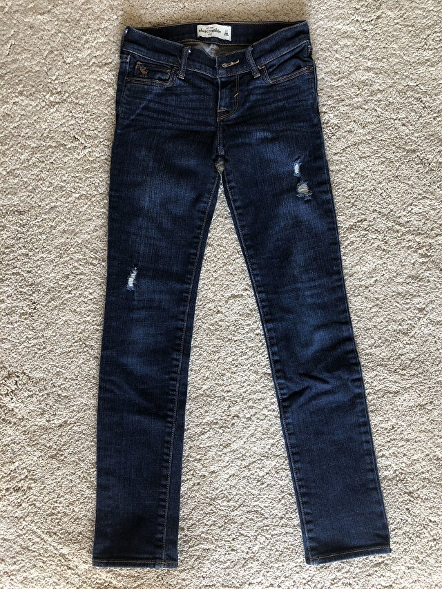 Lacivert Abercrombie & Fitch Skinny 85 TL 0