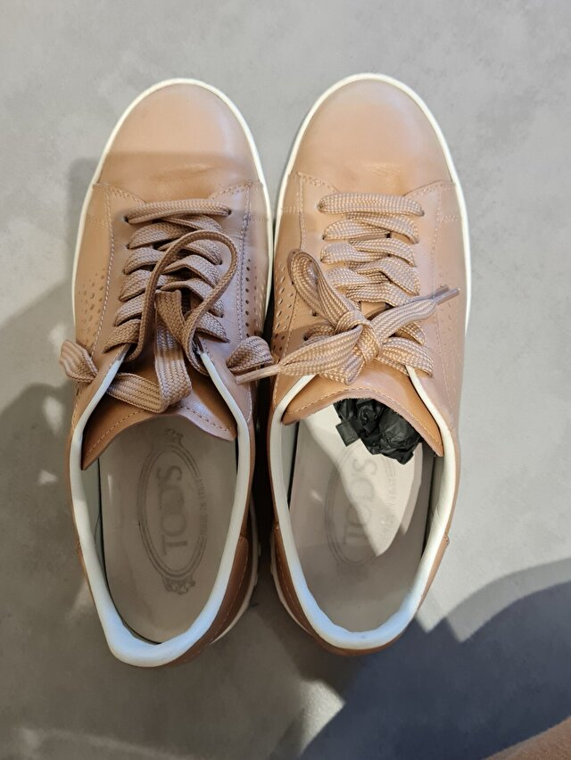 Camel Tod's Sneakers 4