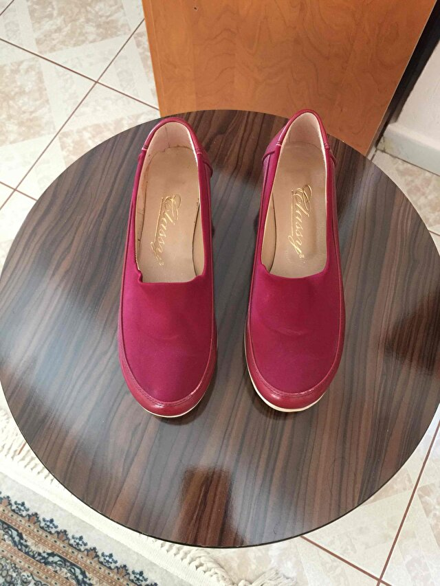Bordo Zara Loafer 1