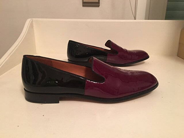 Bordo Marc By Marc Jacobs Loafer 300 TL 1