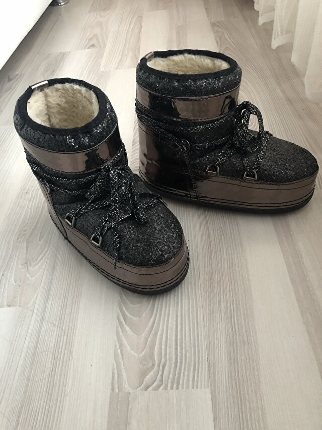 Metalik Moon Boot Bot 250 TL 0