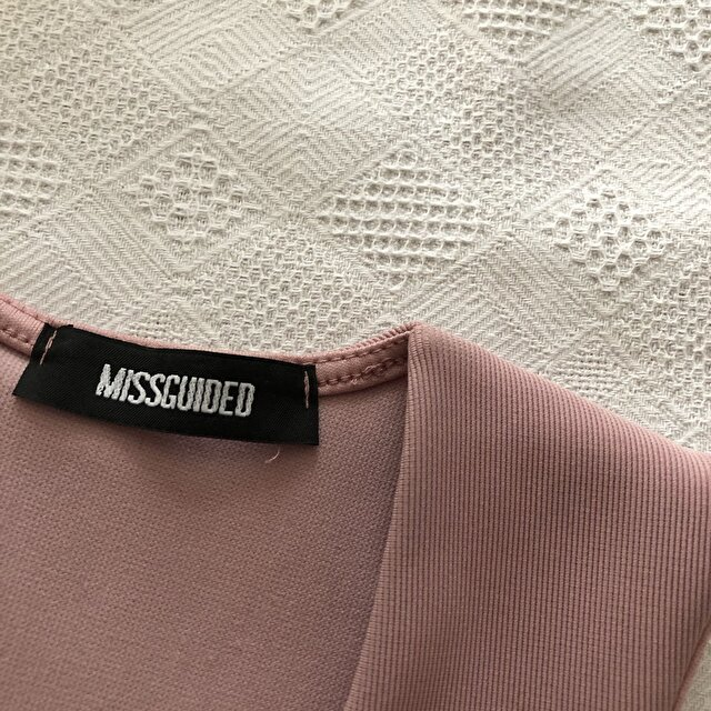 Pudra Missguided Maxi Elbise 50 TL 2