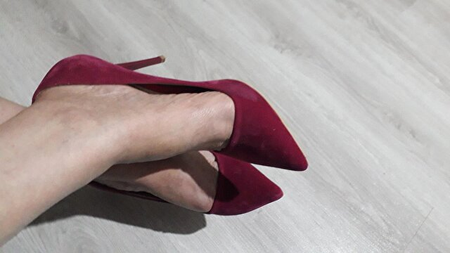 Fuşya Accessorize Stiletto 0